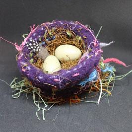 Felted Bird Nest