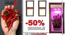 Growbox set -50% BUDDY BUNDLE - urban Chili classic