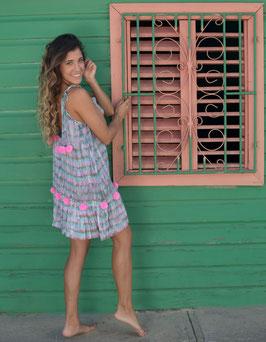 melebach Dress Atlantico Pom Pom kurz