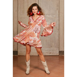 "Antica Sartoria Dress ""Coral Reef"""