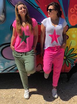 """Star Shirt """"Leinen"""""""
