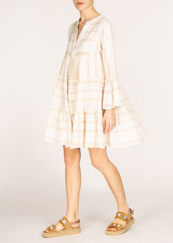 Devotion  Dress Ella creme/white
