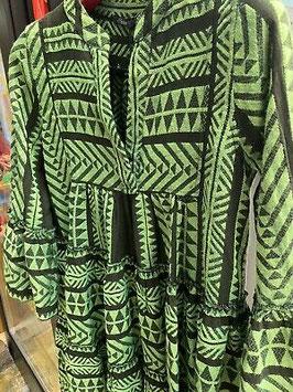Devotion Dress Zakar khaki/lime