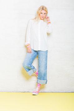 """Emily van den Berg Bluse """"Pink Stripes"""