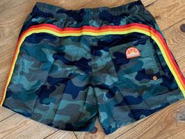 "Sundek Short ""Camounflage Retro"" medium Length 14 inch"