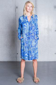 "Emily van den Berg Kleid midi ""Paisley"" azur/turquoise"