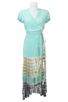 melebeach Dress June Volante mantra aqua