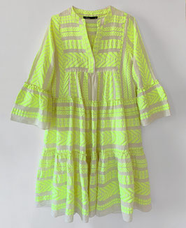 Dress Zakar/Ella Midi neon lime