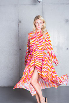 Emily van den Berg Kleid Retro