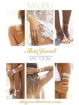 "Skin Jewel Tattoos ""Malibu"""
