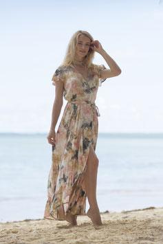 melebeach Dress June Volante loto nude