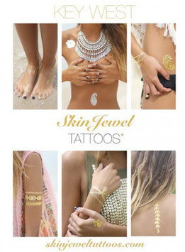 "Skin Jewel Tattoos ""Key West"""