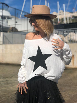 "Shirt loose ""Star"" Cotton"