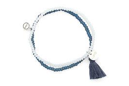 """Armband """"Blue Love"""""""