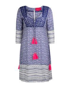 "Dress ""Blue Lotus"" midi"