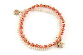 "Armband ""Coral Star"""