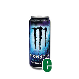 MONSTER ENERGY ABSOLUTELY ZERO 0,50 LITRI