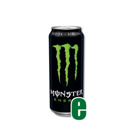 MONSTER ENERGY VERDE 0,50 LITRI