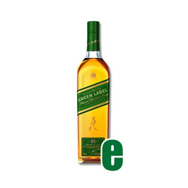JOHNNIE WALKER GREEN LABEL 15 Y CL 70