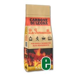 CARBONE DI LEGNA LA FORNACELLA KG 2,5