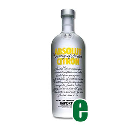 ABSOLUT CITRON CL 100