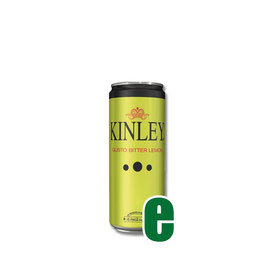 KINLEY BITTER LEMON LATTINA 0,33 LITRI