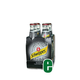 SCHWEPPES SODA CL 18 X 4 BOTT