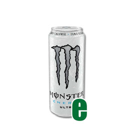 MONSTER ENERGY ULTRA WHITE 0,50 LITRI