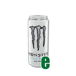 MONSTER ENERGY ULTRA WHITE 0,50 LITRI