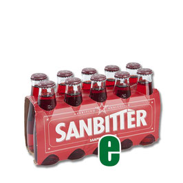 SANBITTER ROSSO CL 10 X 10 BOTT