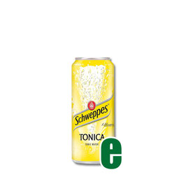 SCHWEPPES TONICA LATTINA 0,33 LITRI