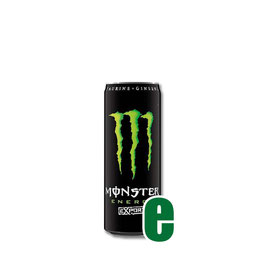 MONSTER ENERGY DRINK VERDE 0,355 LITRI