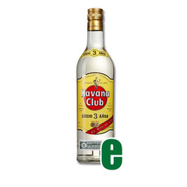 HAVANA CLUB ANEJO CARRIBEAN 3Y CL 100