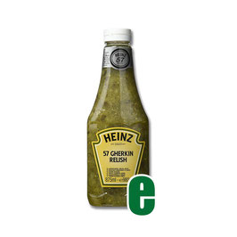 HEINZ 57 GHERKIN RELISH KING KONG ML 875