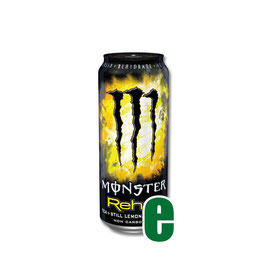 MONSTER ENERGY REHAB 0,50 LITRI