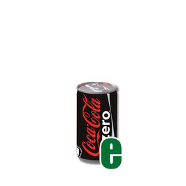 COCA COLA ZERO MINI CAN LATTINA 0,15 LITRI