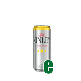 KINLEY TONIC WATER LATTINA 0,33 LITRI