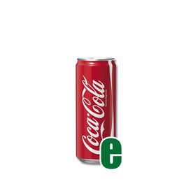 COCA COLA LATTINA 0,33 LITRI