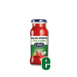 SALSA PRONTA OLIVE E CAPPERI GR 350