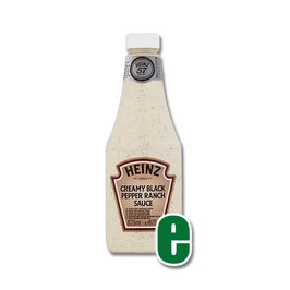 HEINZ CREAMY BLACK PEPPER RANCH SAUCE KING KONG ML 875