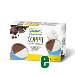 6 COPPE PANNA E CIOCCOLATO GR 300