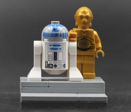 Star Wars™ R2-D2 & C-3PO LEGO® MOC