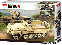 Sluban B0695  German Half Track - WW II  - Panzer OVP