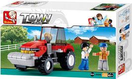 Sluban Tractor Traktor Bauernhof M38 - B0556 OVP