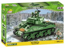 "Cobi - 2550 Sherman M4A3E2 ""Jumbo"" OVP"