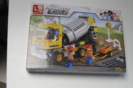 Sluban Betonmischer M38 - B0550 Baustellenfahrzeug Town OVP