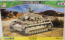 Cobi - 2546 Panzerkampfwagen IV AUSF. G DAK OVP