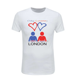 WHITE T-SHIRT Ref n° WC1L  LONDON
