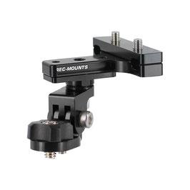 回転式サドルレールマウント タイプ1 for ドリフト アクションカメラ [DF-30RCNA]