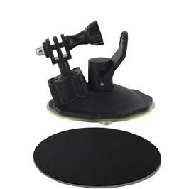 ショートサクションカップマウント ノーマル吸盤タイプ  for シマノ スポーツカメラ CM-1000[SH-01-GP]